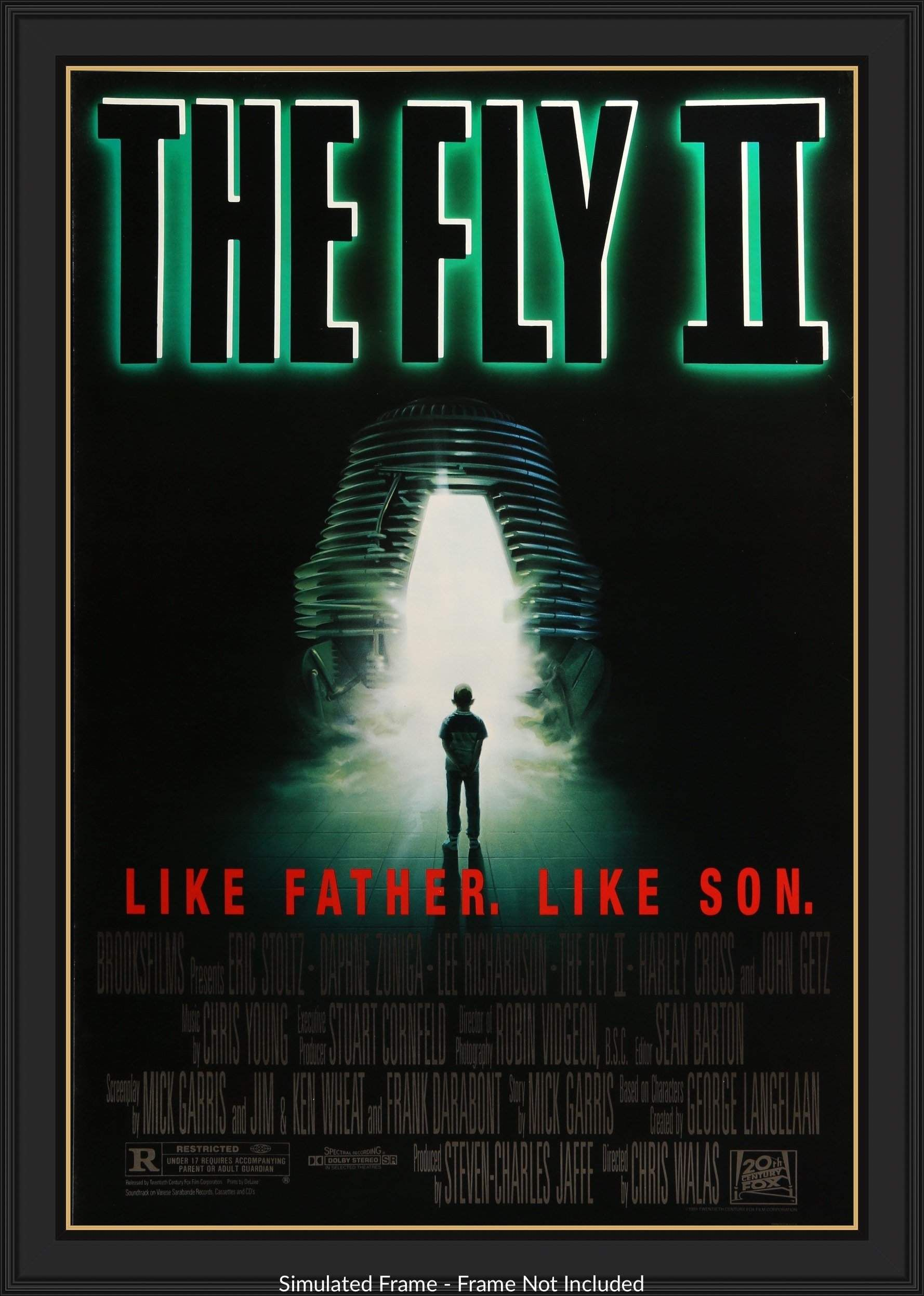 Fly Ii 1989 In 2021 The Fly Ii B Movie Movie Posters
