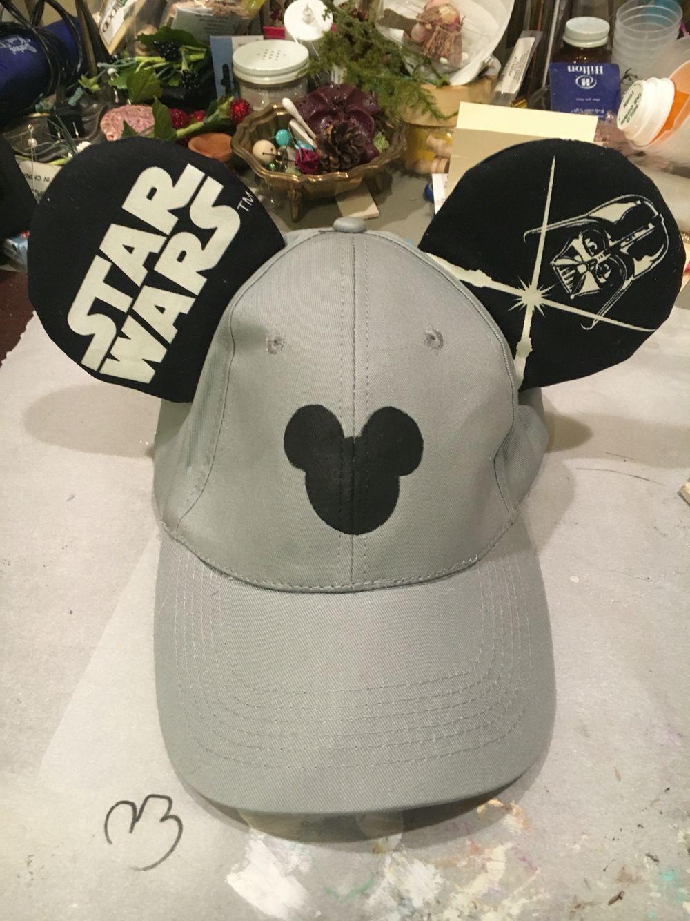 d9db76582d05b9 Star Wars Baseball Cap Mouse Ears | Minnie Mouse Ears | Disney ears ...