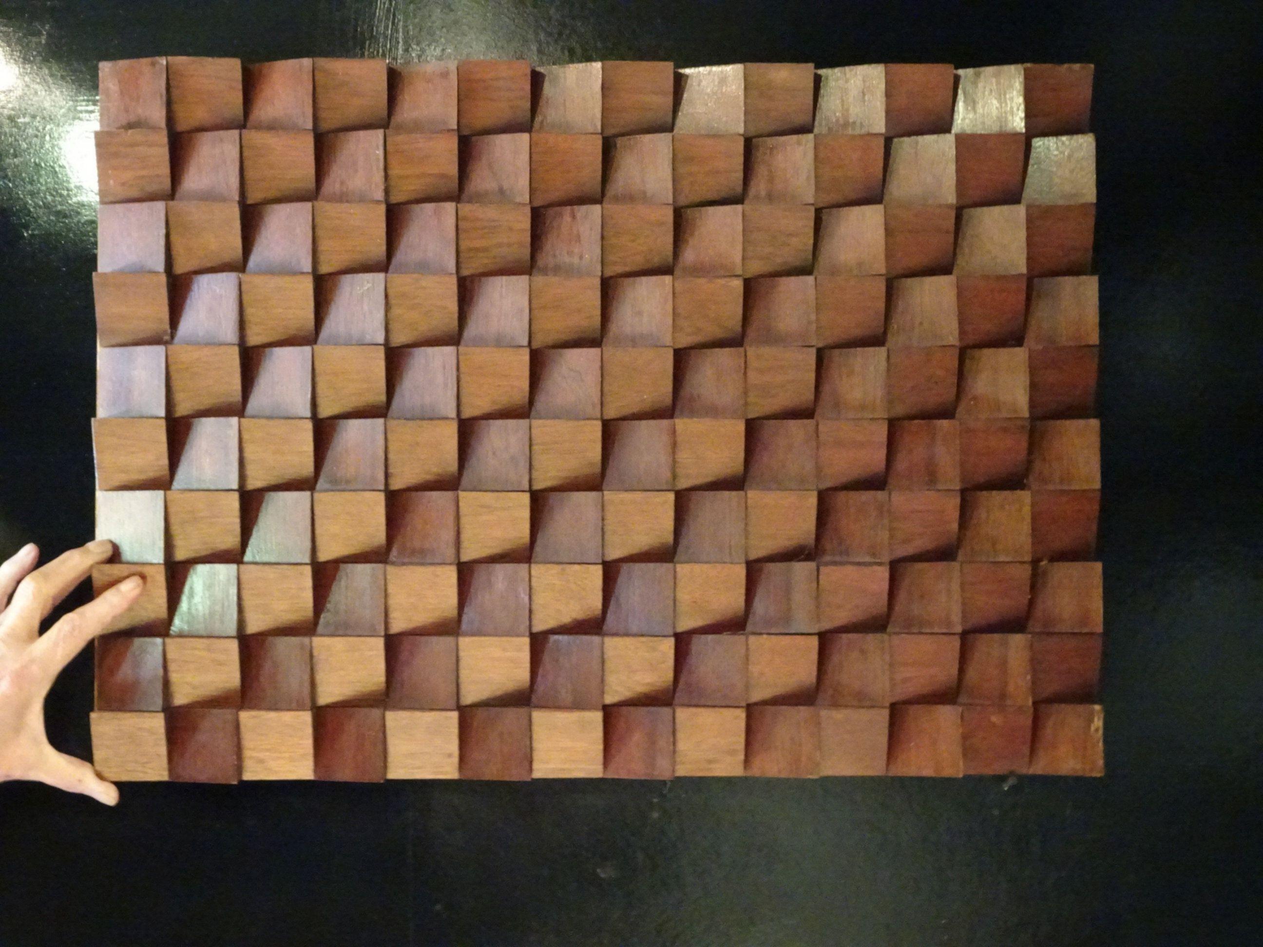 3d Wood Panel Wooden Mosaic Wall Decor Texture Wood Wall Art Wood Paneling Mosaic Wall Wood Wall Art