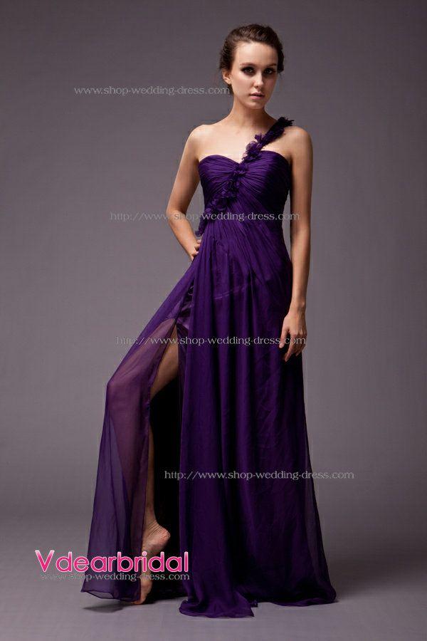 Black Purple Bridesmaid Dresses Google Search Wedding