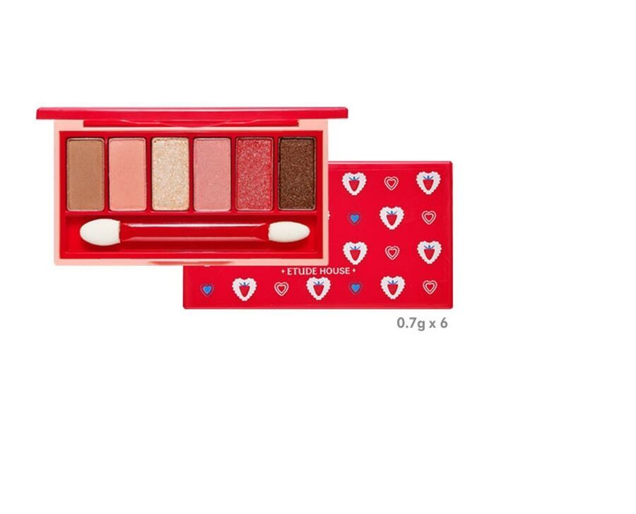 Etude House Colorful Drawings Fantastic Color Eyes 6 Color