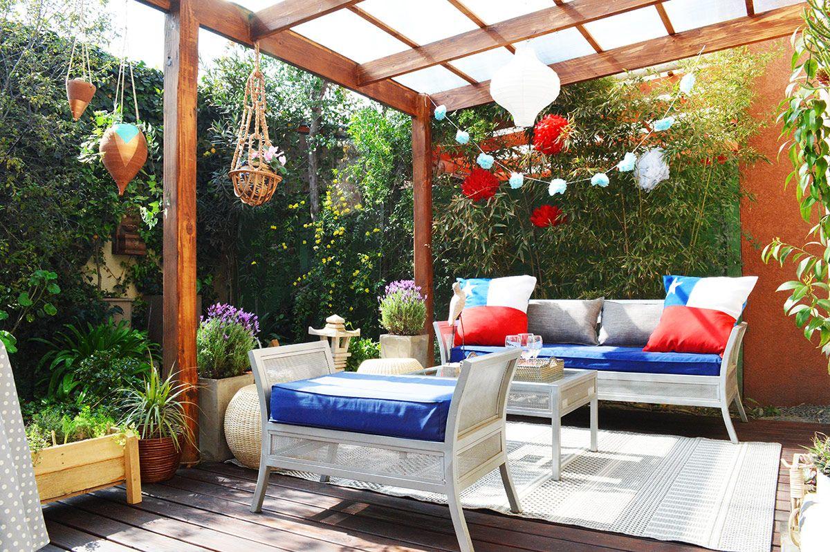 Resultado de imagen para hacer adornos fiestas patrias for Decorar mi terraza