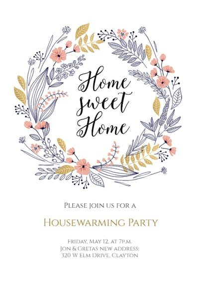 Housewarming Invitations Templates Awesome Fresh Start  Housewarming Invitation   Crafty   Pinterest .