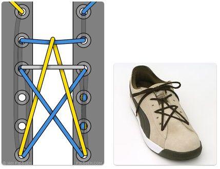34 Cara Unik Dan Keren Dalam Mengikat Tali Sepatu Sepatu
