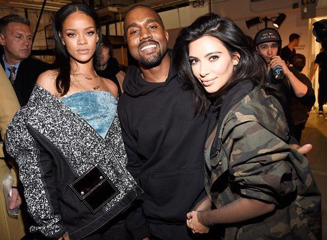 Kim Kardashian Ekki Satt Vid Hvad Rihanna Og Kanye West Eru Nain Kardashian Girls Rihanna Kanye West Kim And Kanye