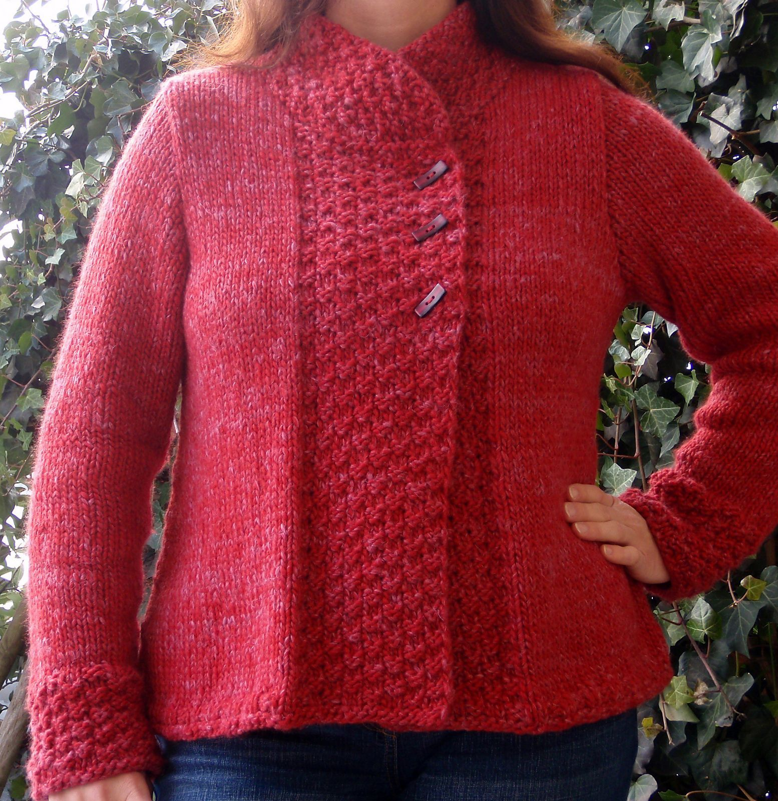 Free Knitting Pattern for Quick Silver Haze Jacket - This cardigan ...
