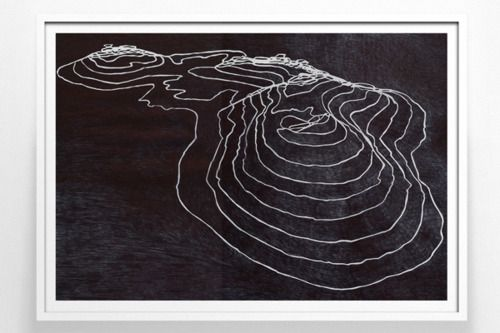 elevation chalk map.