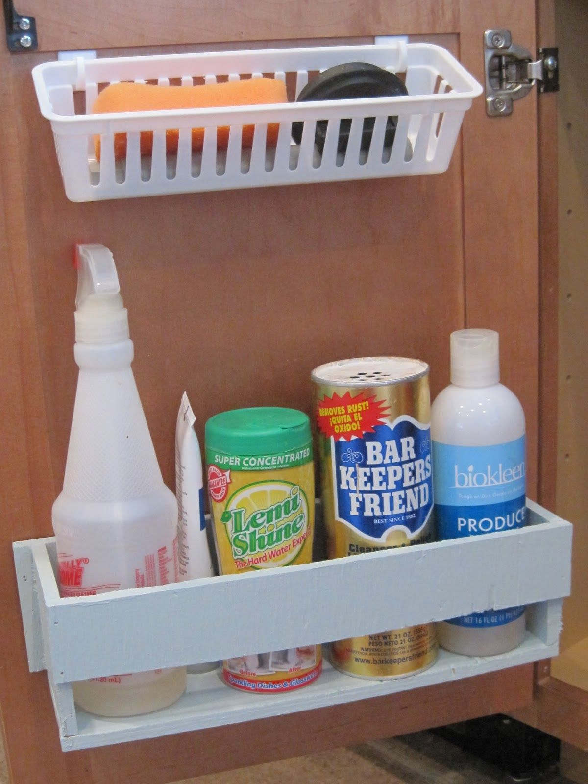 Rolling Organizer For Pedestal Sink - Perfect for adding more organized  space to a small bathroom