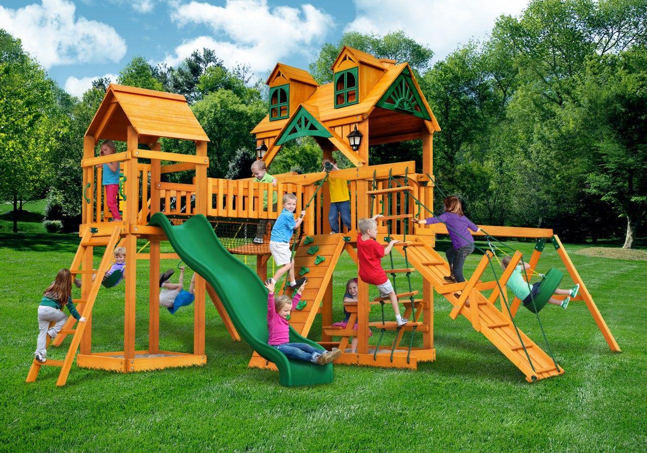 gorilla playsets malibu pioneer peak playset childrens outdoor