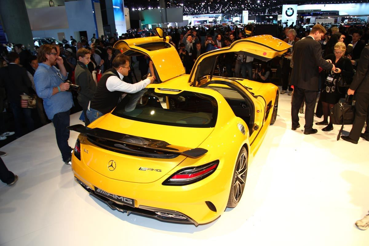 2014 mercedes benz sls amg black series from the 2012 los angeles auto show