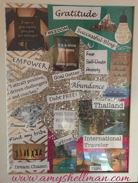 Amy Shellman Passionately Happy And Fit Why Make A Vision Board
