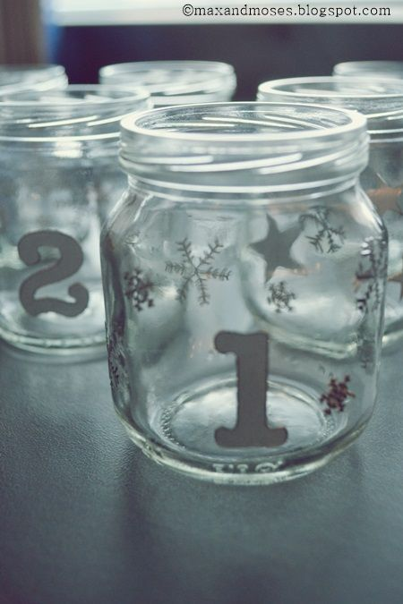 Max & Moses - the blog: Recycling baby food jars / Pilttipurkkikierrätystä