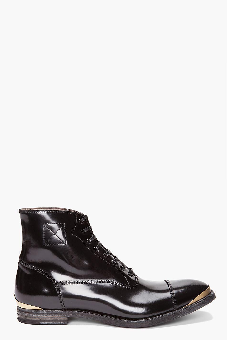 Alexander Mcqueen lace-up boots for Men 0539160a9392d