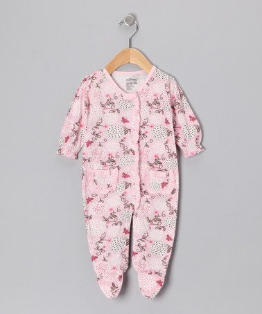 This Pink Make a Wish Organic Footie - Infant by My O Baby is perfect! #zulilyfinds