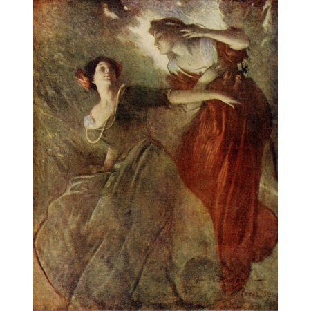 Appletons Booklovers Mag 1904 Autumn Canvas Art - John W Alexander (24 x 36)