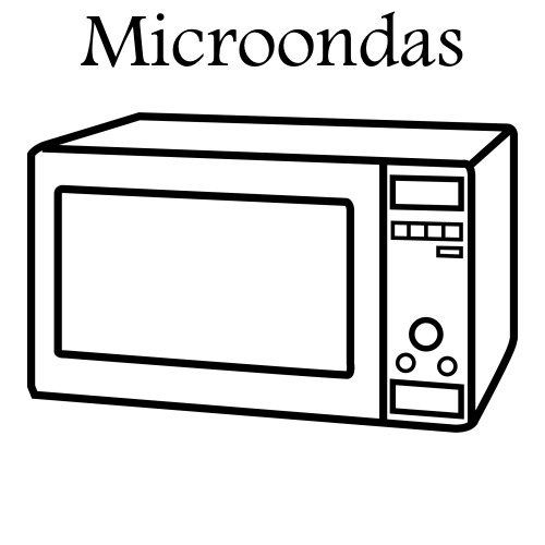 Microondas electrodom sticos recursos educativos - Electrodomesticos retro ...
