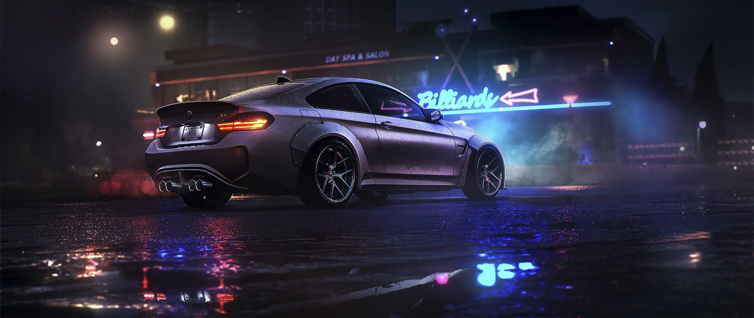 Wallpaper Silver Bmw Coupe Animation Ultra Wide Car Need For Speed Mode Of Transportation Bmw Coupe Bmw Wallpapers Bmw