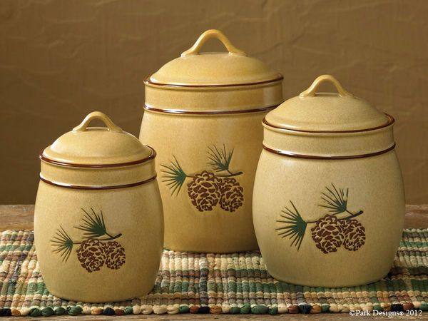 Everything Primitives   Pine Bluff Canister Set, $84.95 (http://www.