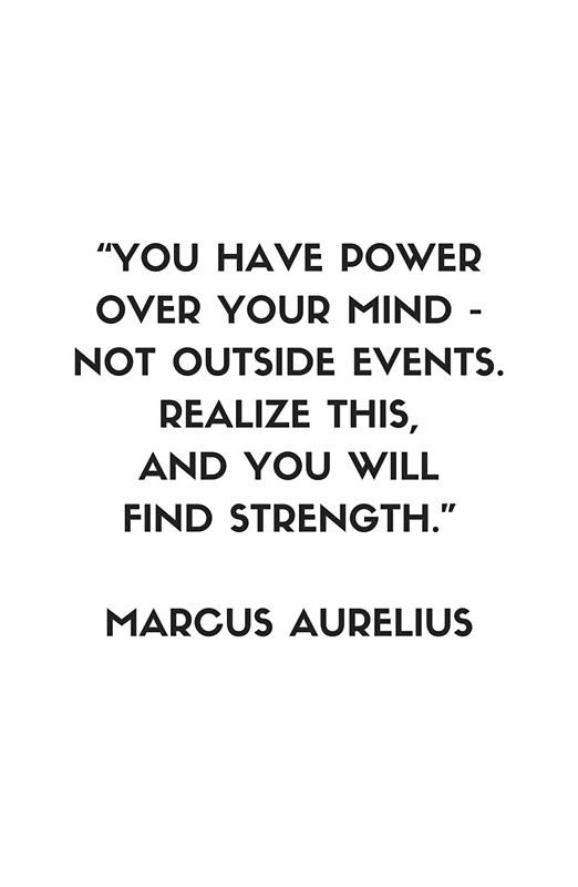 Philosophical Quotes Mesmerizing Marcus Aurelius Stoic Philosophy Quote ' Framed Print