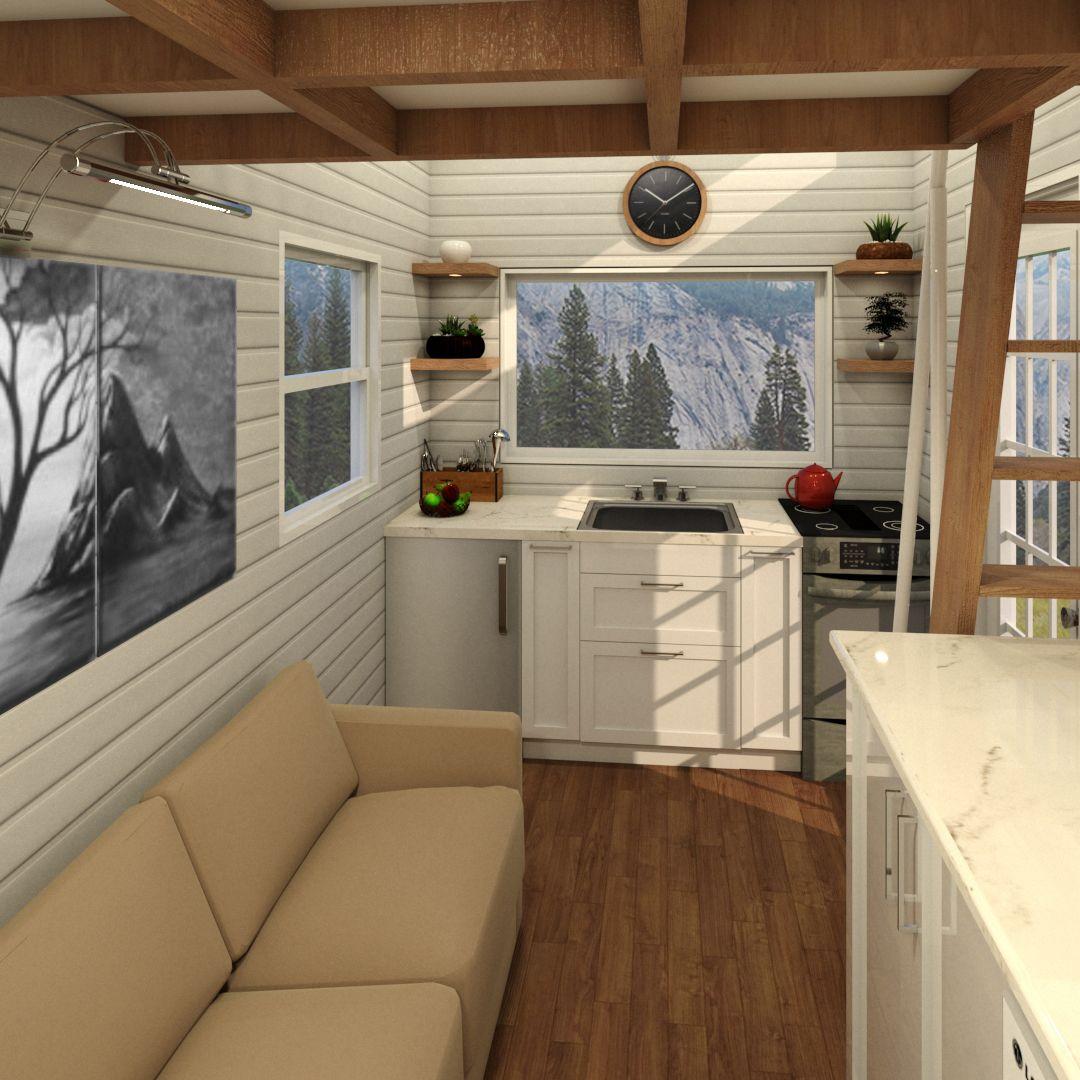 Tiny Cabin 4 8 Metre 16ft Tiny House Plans Tiny House Plans Tiny House Living Tiny House Bathroom