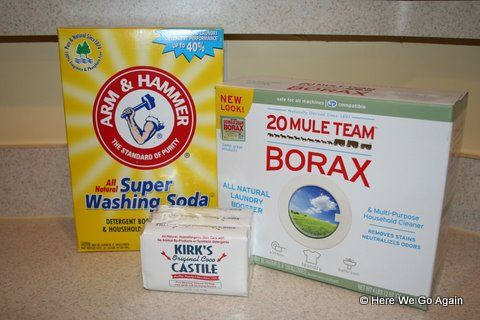 How To Make Your Own Laundry Detergent With Images Laundry