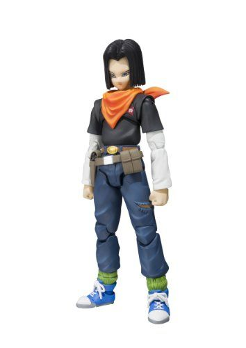 "Bandai Tamashii Nations S.H. Figuarts Android 17 ""Dragon Ball Z"" Action Figure Bandai http://www.amazon.com/dp/B00JCA1M3I/ref=cm_sw_r_pi_dp_J25Xtb0FJ63Q74KN"