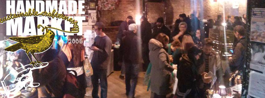 Handmade Market at the Empty Bottle Saturday, November 12th
