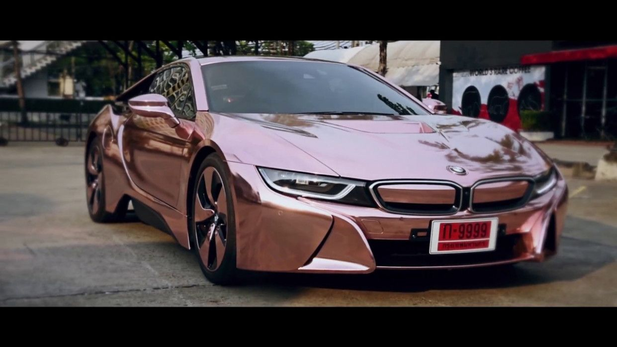 Pin by Monic Andrea on News Bmw, Bmw i8, Rose gold chrome