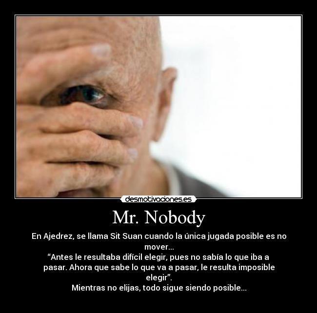 Frases Mr Nobody En 2019 Cine