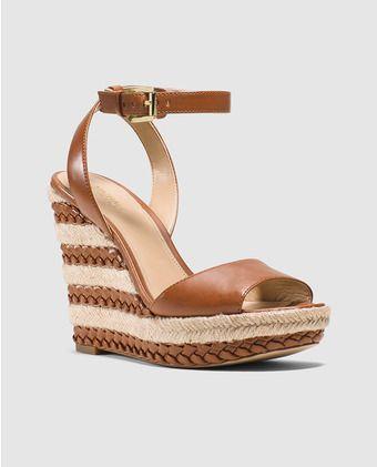Footwear · Sandalias de cuña de mujer Michael Kors ...