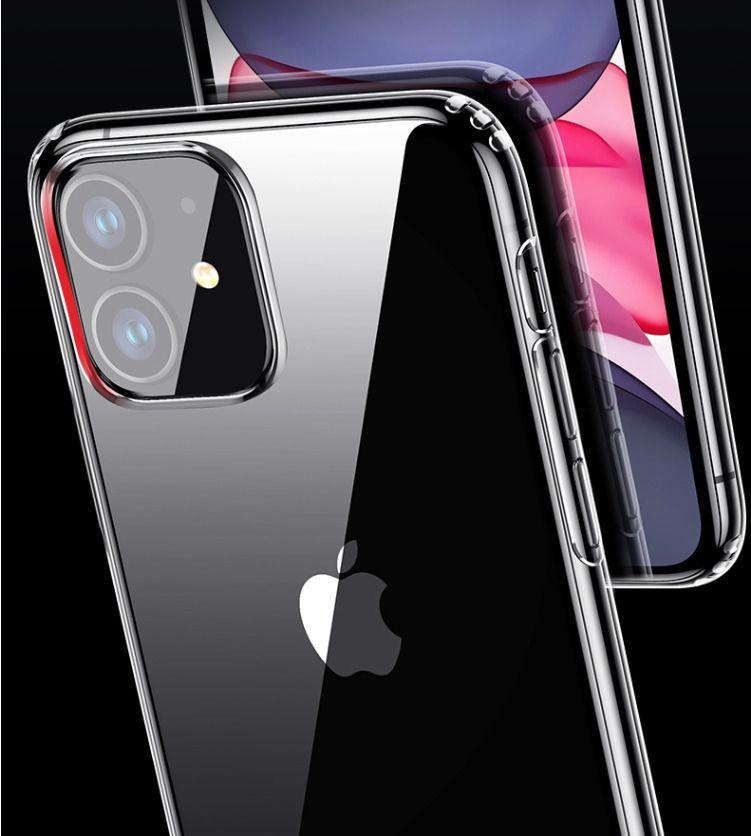 Fr iphone 11 pro max casefrontcamera lens tempered glass