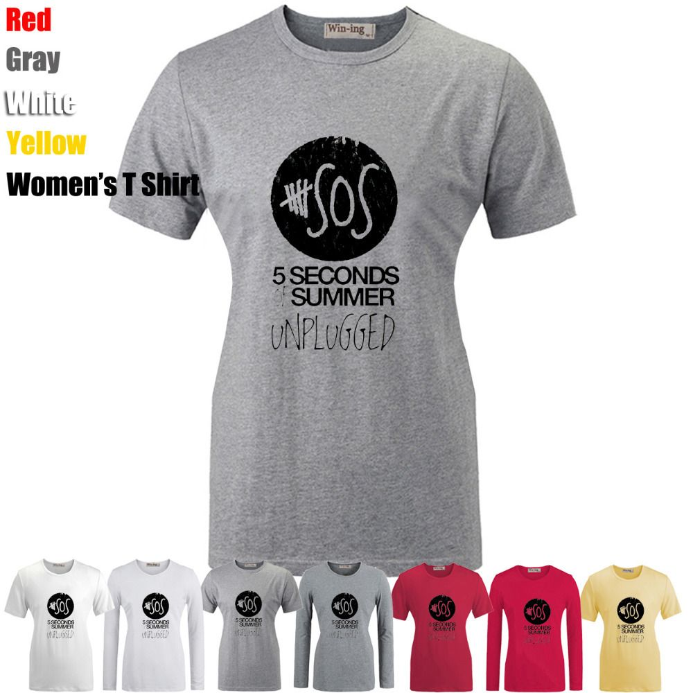 46155697da48 Cute 5 Seconds Of Summer Shirts - BCD Tofu House