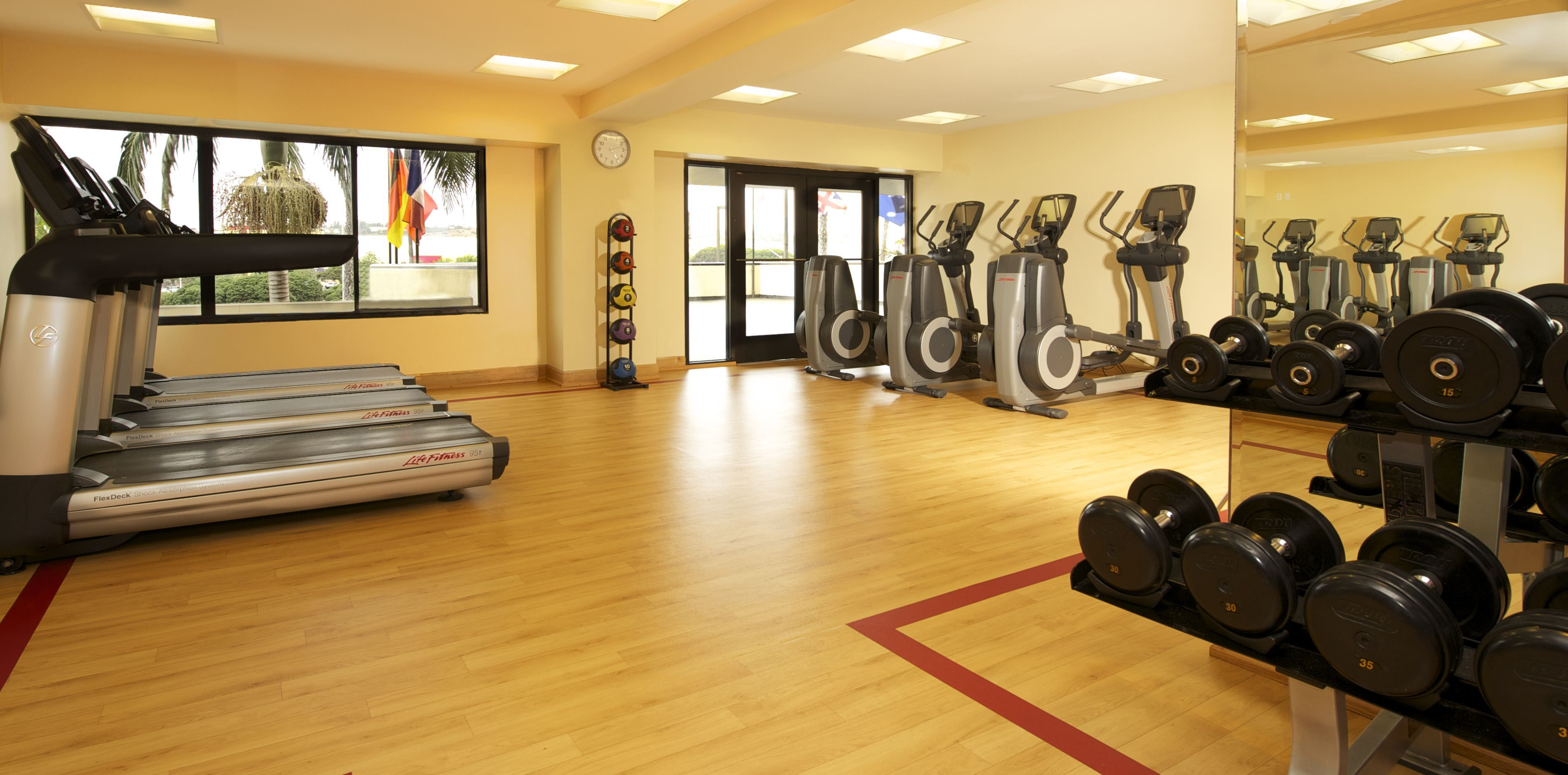 Workout In Our State Of The Art Fitness Center Mission Valley San Diego San Diego Hotels Mission Valley