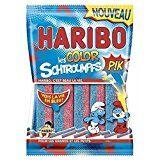 Haribo Color Schtroumpfs Pik Sachet 180g Prix Unitaire Envoi Rapide Et Soignee Bonbon Haribo Bonbon Sachet