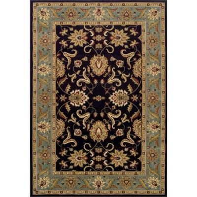 Addison Rugs Vanguard 5 Traditional Chocolate 8 Ft X 10 Ft Area Rug Brown Area Rugs Rugs Area Rug Sizes