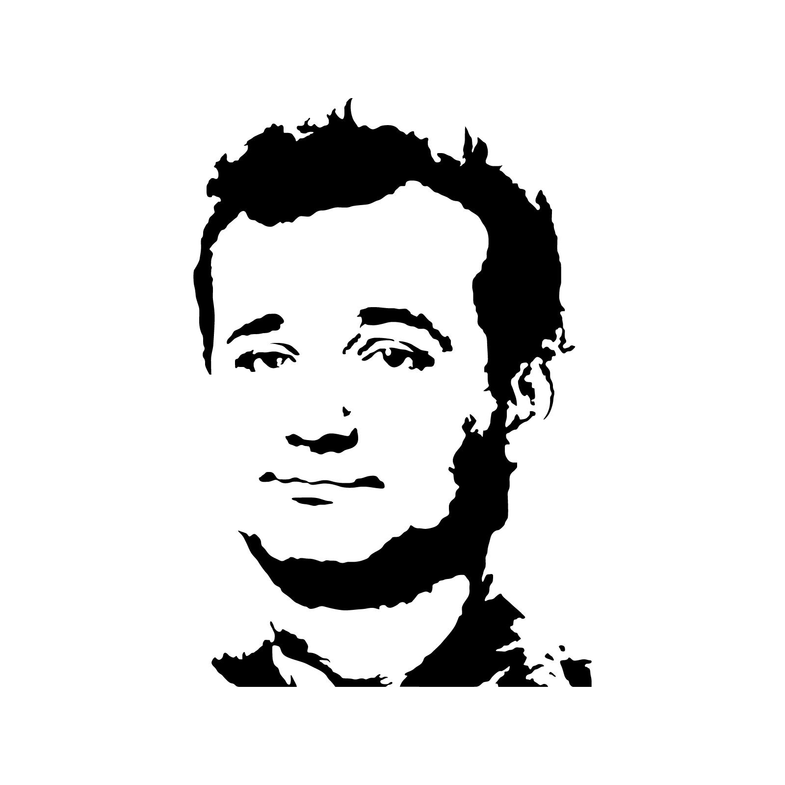 Bill Murray Stencil