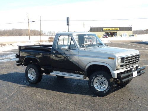 Sell Used 1980 Ford F150 Step Side 4x4 Regular Cab In Wyoming