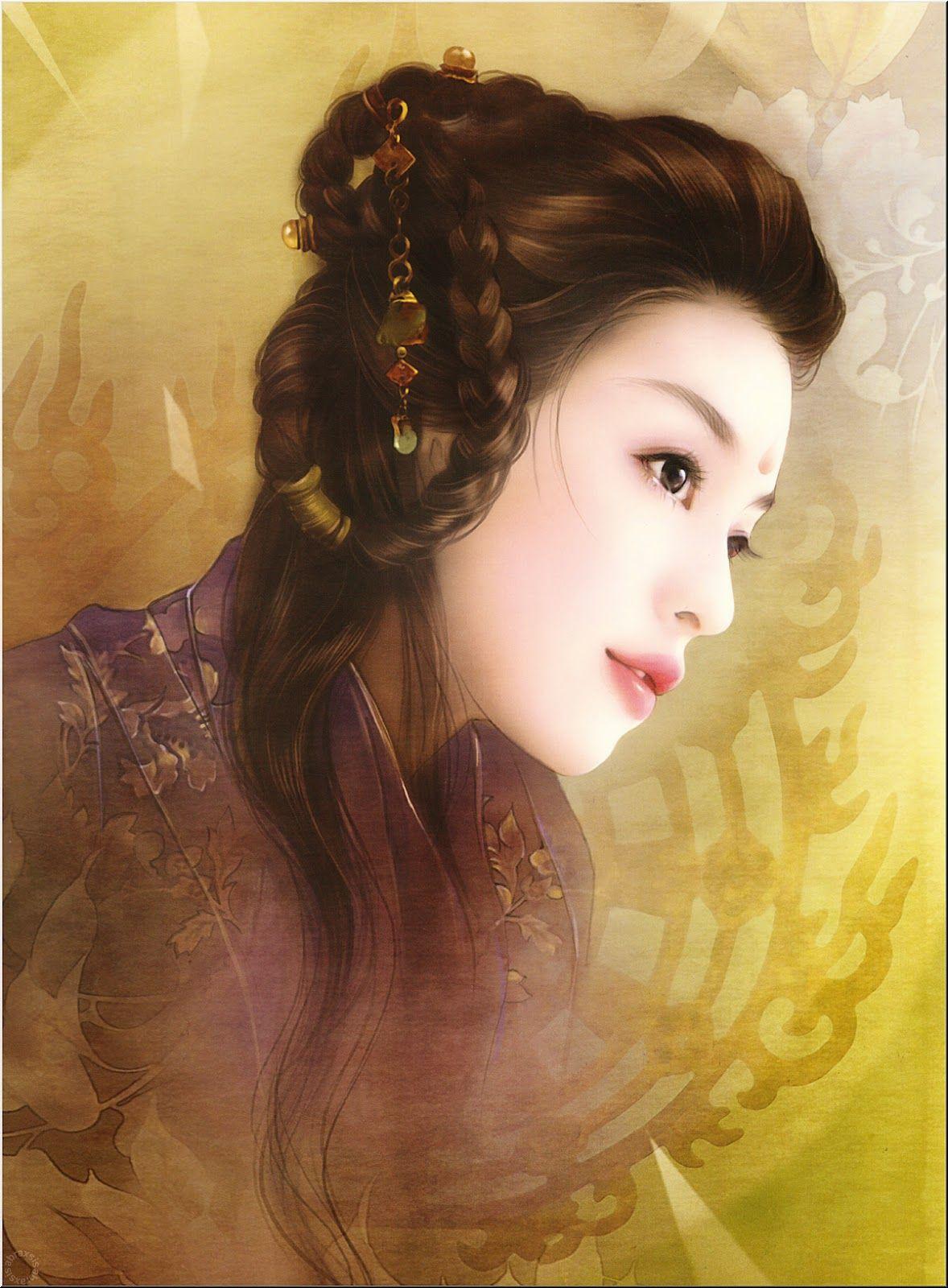 них было фото китайских картин из волос мчс при помощи