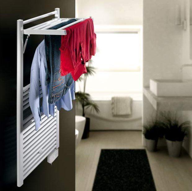 Optimiser lu0027espace du0027une petite salle de bains ? Cu0027est facile - porte serviette salle de bain design