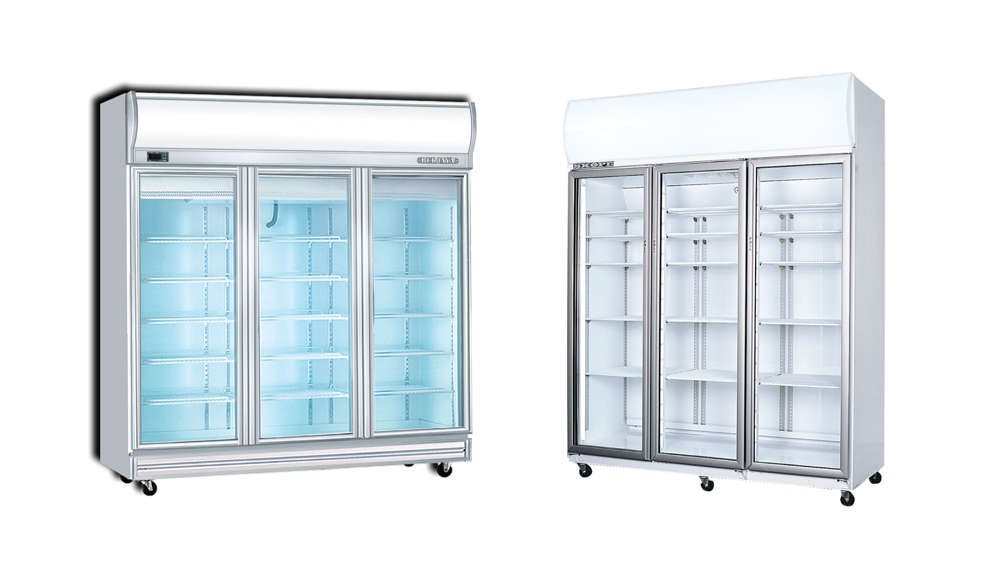 3 Door Glass Display Commercial Dairy Fridge In Bangladesh Call