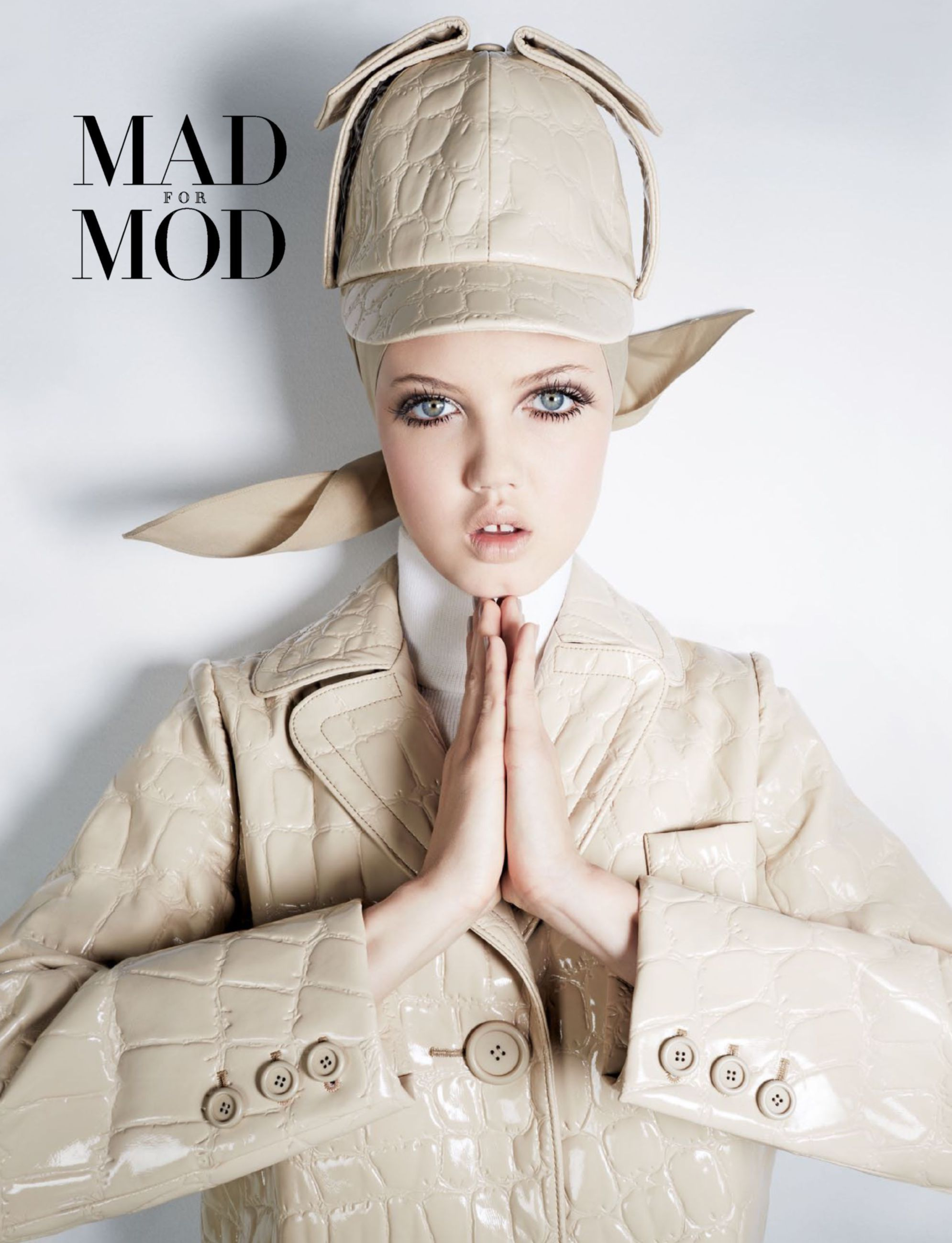 Mad For Mod: Lindsey Wixson by Anthony Maule for Harper's Bazaar Singapore June 2015