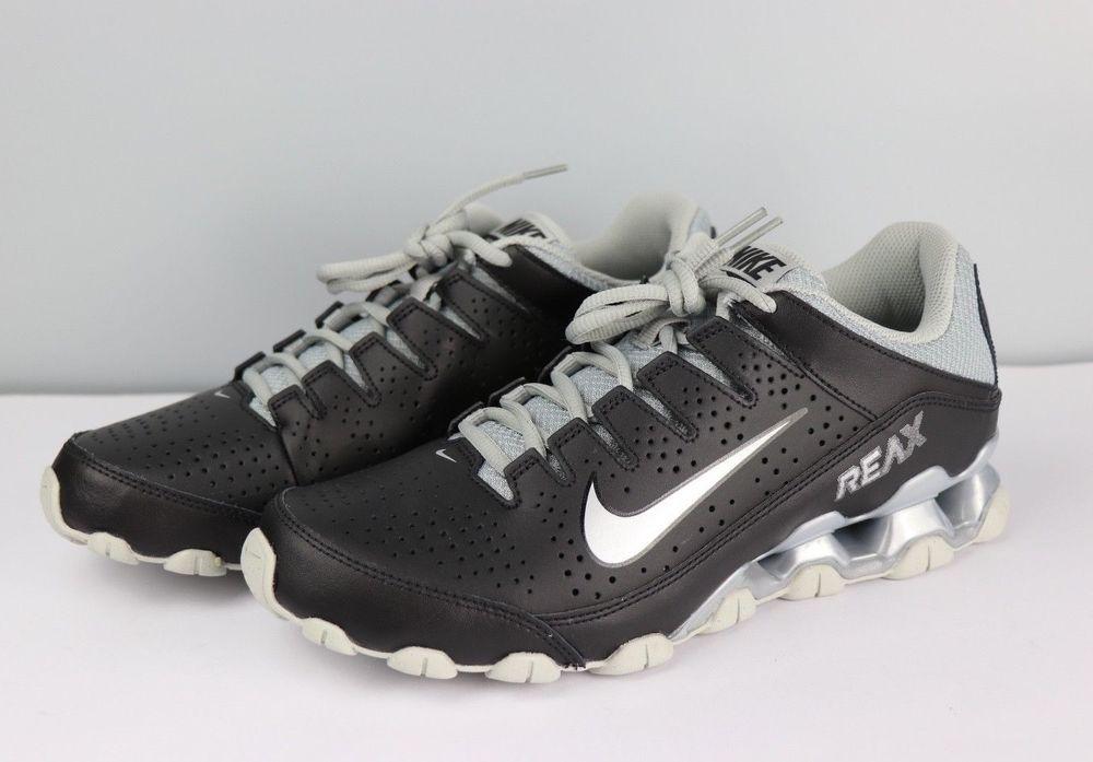 4b7638914b Nike Reax 8 TR Cross Training Trainers Black Grey New Mens Size 9 616272-001