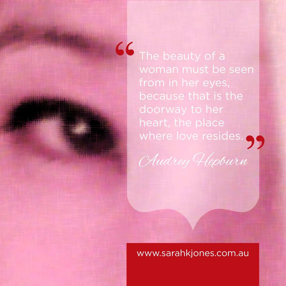 #inspiration #inspirationalquotes #audrey www.facebook.com/sarahkjonesintuitive