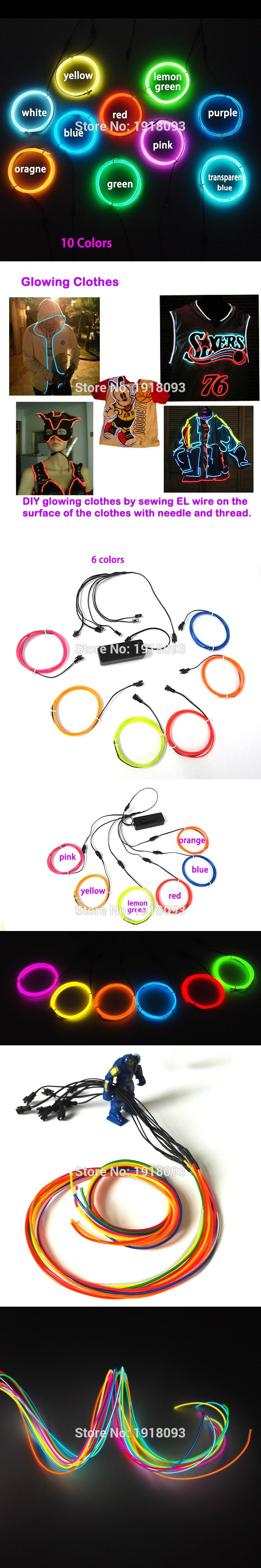 With Diy Led Strip Toysclothingelectrical Appliances Decor 23mm How To Build Multicolor Hd 1m 6pieces