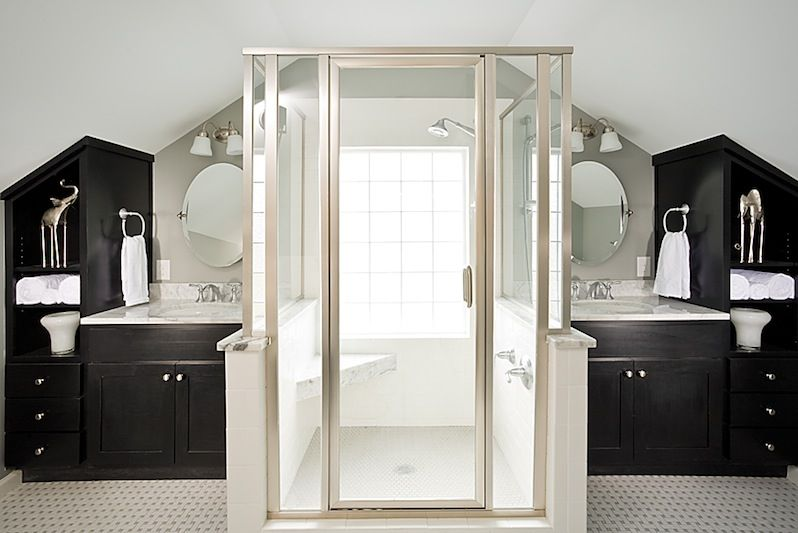 Bungalow Bathroom - Renewal Design Build: Atlanta Remodeler