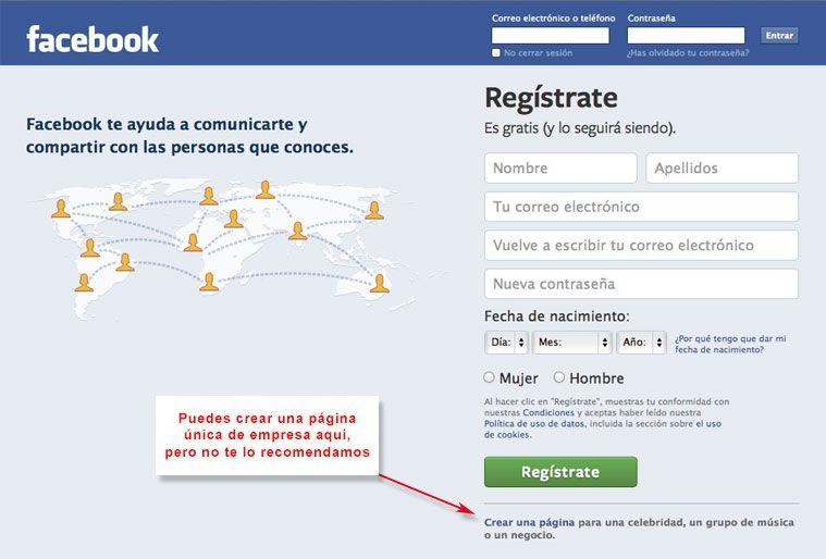 Cómo crear en 10 pasos tu página de empresa en Facebook. #Mkt #MarketingOnline #Facebook