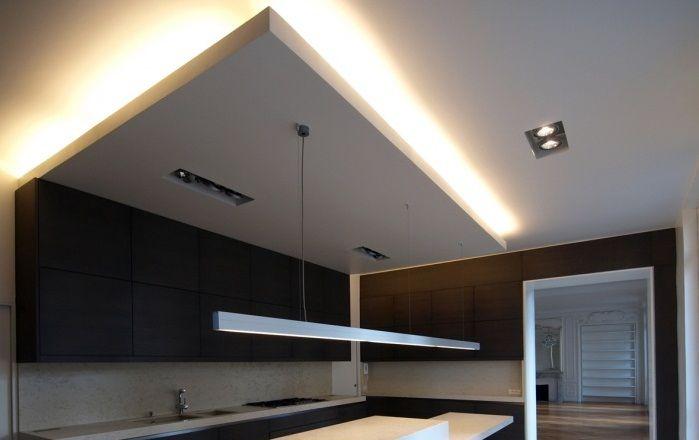 Faux plafond suspendu extra - Plafond platre | idées déco maison ...
