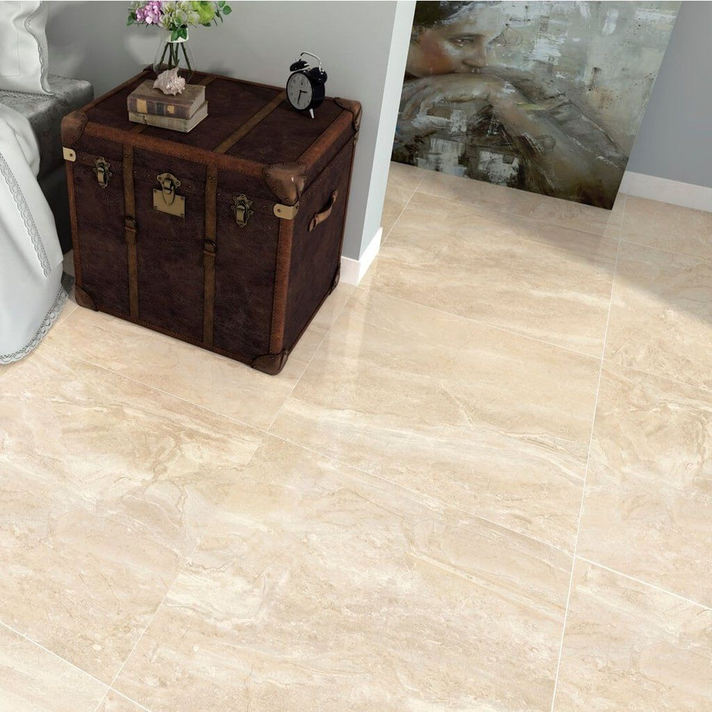 Kenia cream floor tiles 60 x 60 cm marbles kitchen floors and kenia marfil large marble effect cream floor tiles with old chest dailygadgetfo Choice Image