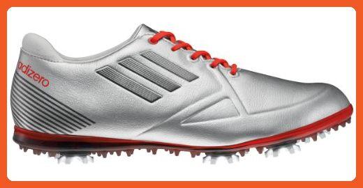 Adidas donne adizero tour scarpa da golf, argento metallico / in bianco