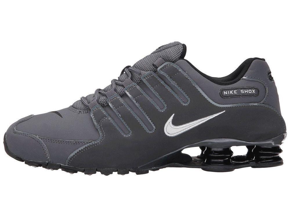 NIKE SHOX NZ Dark Grey Mens 15 378341 059 NEW  NikeShox  Athletic d68a9b897